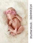 Newborn Baby Peacefully...