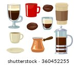 coffee icon set isolated on...