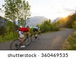 group of cyclist ride to the... | Shutterstock . vector #360469535