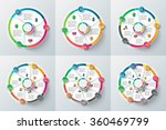 vector circle element for... | Shutterstock .eps vector #360469799