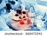 Постер, плакат: Science chemistry technology biology