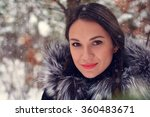 beautiful girl in a good mood... | Shutterstock . vector #360483671