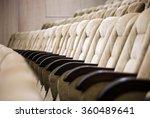empty comfortable seats in... | Shutterstock . vector #360489641