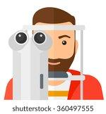 patient visiting...   Shutterstock .eps vector #360497555