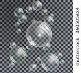 gentle underwater or soap... | Shutterstock .eps vector #360505634