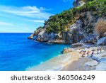 a view of cala goloritze beach  ...   Shutterstock . vector #360506249