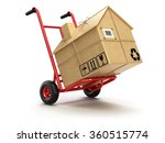 delivery or moving house... | Shutterstock . vector #360515774