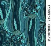 tracery seamless calming... | Shutterstock .eps vector #360520121