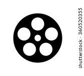 film reel icon . vector...   Shutterstock .eps vector #360520355