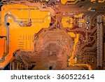 circuit board. electronic...   Shutterstock . vector #360522614