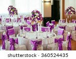 table set for wedding or... | Shutterstock . vector #360524435