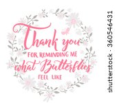 thank you for reminding me what ... | Shutterstock .eps vector #360546431