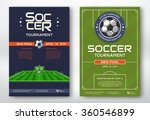 soccer tournament modern sports ... | Shutterstock .eps vector #360546899