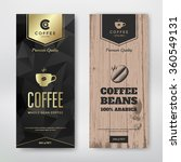 packaging design for a coffee.... | Shutterstock .eps vector #360549131