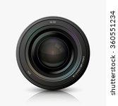 vector modern camera icon on... | Shutterstock .eps vector #360551234