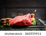 Постер, плакат: Fresh meat for tasty