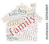 family info text graphics and... | Shutterstock .eps vector #360564869