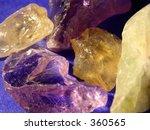 rocks and minerals | Shutterstock . vector #360565