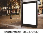blank billboard with copy space ... | Shutterstock . vector #360570737