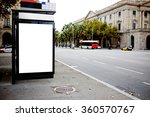 blank billboard with copy space ... | Shutterstock . vector #360570767
