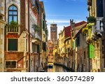 Venice Cityscape  Narrow Water...