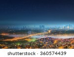 panorama of istanbul and... | Shutterstock . vector #360574439