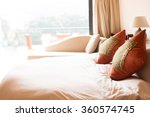 decoration and furniture in... | Shutterstock . vector #360574745