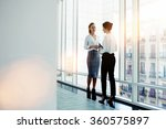 businesswomen dressed in formal ... | Shutterstock . vector #360575897