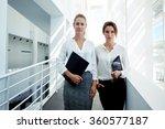 successful female financiers...   Shutterstock . vector #360577187