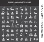 energy industry construction... | Shutterstock .eps vector #360577751