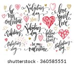 valentine day and love... | Shutterstock .eps vector #360585551
