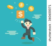 make money concept  business... | Shutterstock .eps vector #360600071