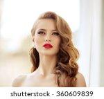beautiful fashion model woman... | Shutterstock . vector #360609839