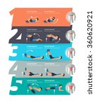 abdominal exercise infographics ... | Shutterstock .eps vector #360620921