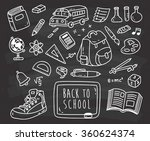 Back To School Themed Doodle On ...