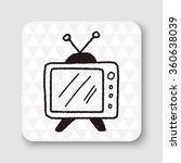 doodle tv | Shutterstock .eps vector #360638039