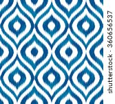 seamless geometric tribal faux... | Shutterstock .eps vector #360656537