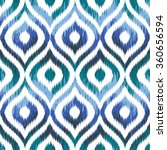 seamless geometric tribal faux... | Shutterstock .eps vector #360656594