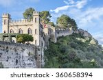 xativa castle in the sun....   Shutterstock . vector #360658394
