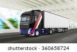 cargo truck | Shutterstock . vector #360658724