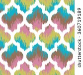 seamless faux fabric moroccan... | Shutterstock .eps vector #360719189