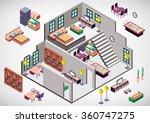 illustration of info graphic... | Shutterstock .eps vector #360747275