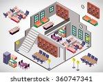 illustration of info graphic... | Shutterstock .eps vector #360747341
