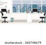 office interior vector business ... | Shutterstock .eps vector #360748679