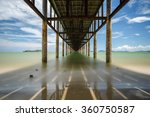 Under a Pier in Chumphon, Thailand Taken with an ND110 Filter