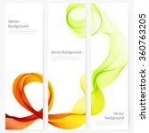 abstract template vertical... | Shutterstock .eps vector #360763205