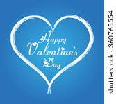 2016 happy valentine's day... | Shutterstock .eps vector #360765554