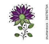 vector beautiful colored...   Shutterstock .eps vector #360780764
