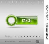 green modern plastic button... | Shutterstock .eps vector #360782921