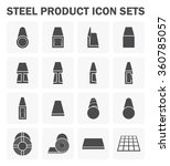 steel structural product such...   Shutterstock .eps vector #360785057
